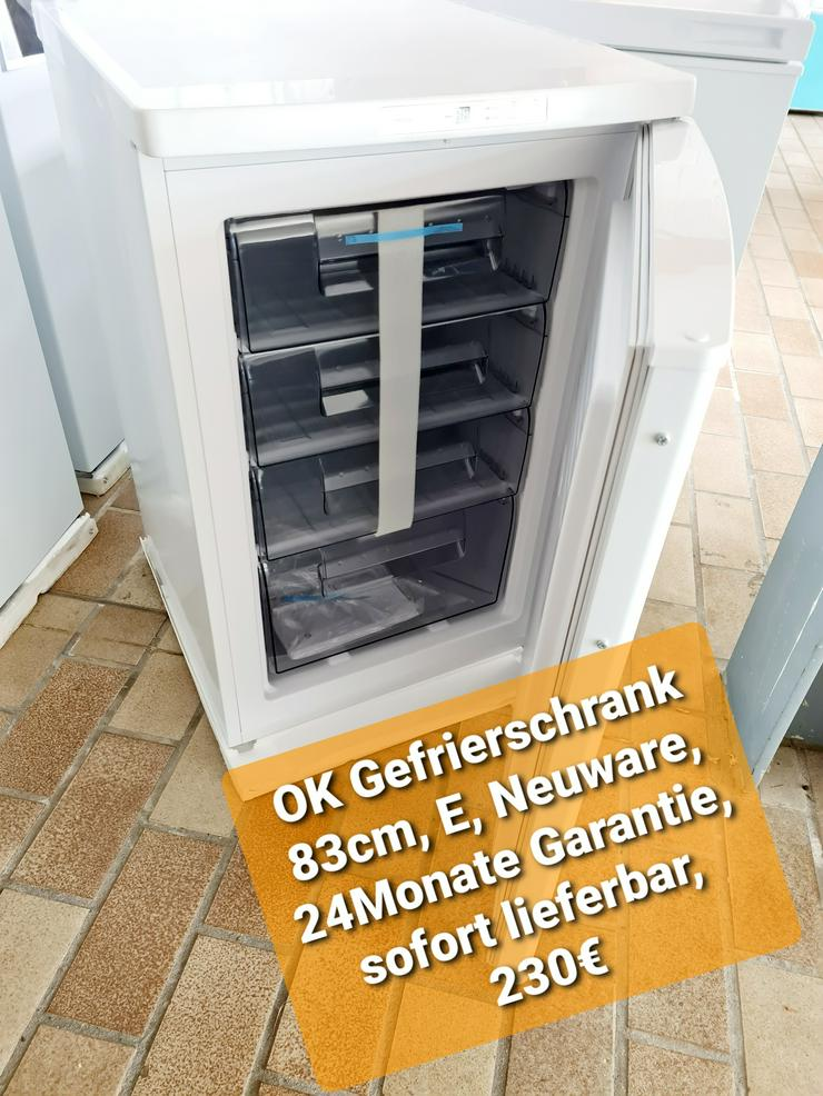 OK Gefrierschrank 83cm, E