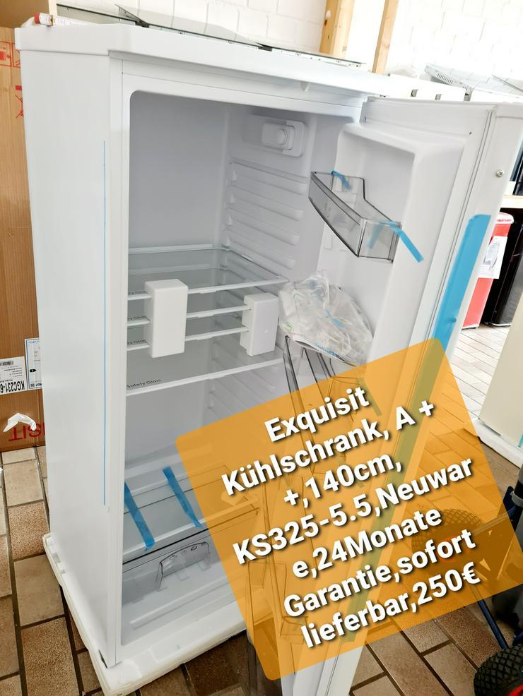Exquisit  Kühlschrank, A++, 140cm