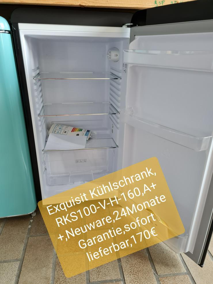 Exquisit Kühlschrank, RKS100-V-H-160, A++