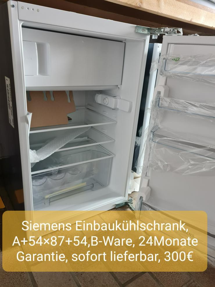 Siemens Einbaukühlschrank, A+54x87+54