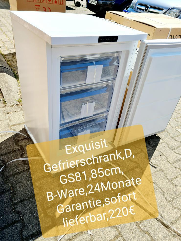 Exquisit Gefrierschrank, D, 85cm