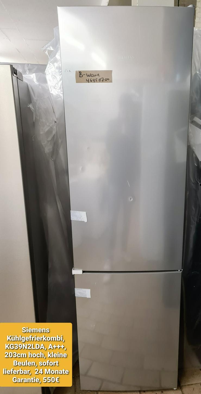 Siemens Kühlgefrierkombi 203cm, A+++