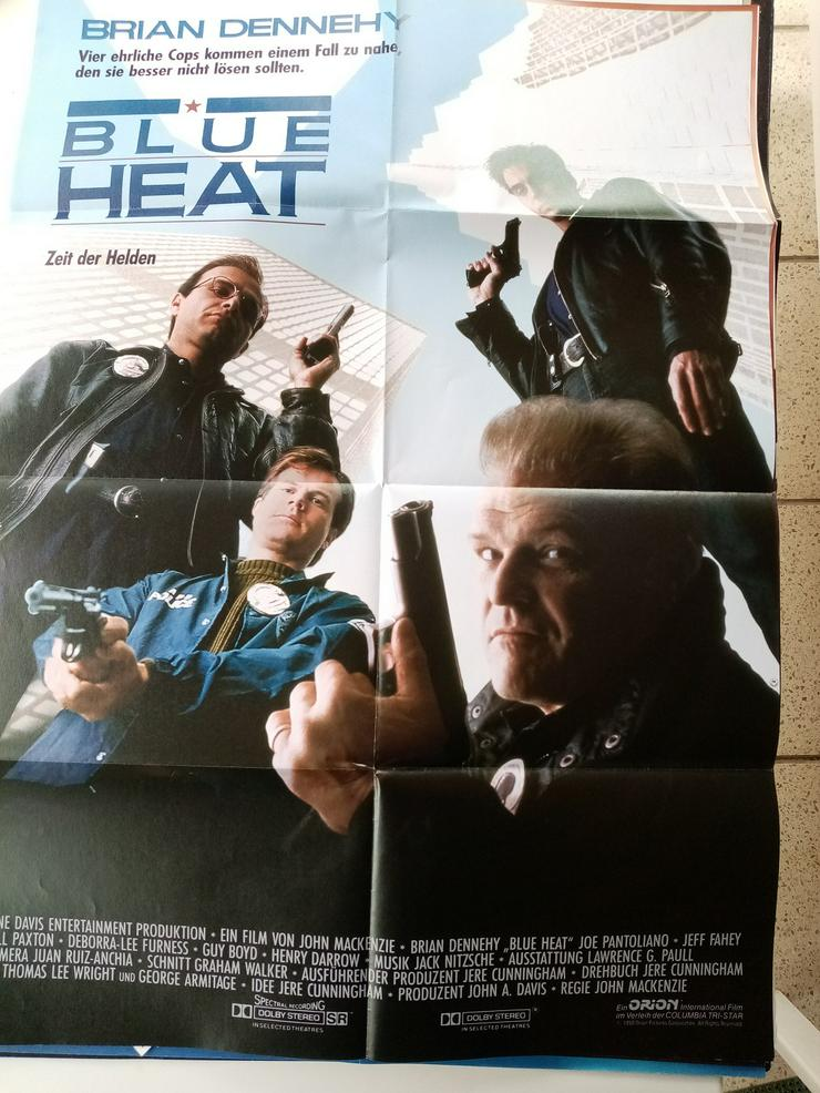 1990 Film Plakat A1  Blue Heat