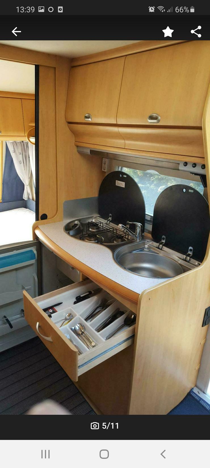Bild 3: Wohnwagen zu vermieten Nordsee Ostfriesland