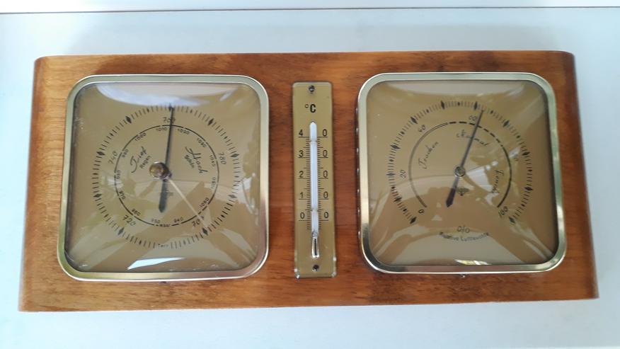 Wetterstation analog der Marke Forster, Made in GDR