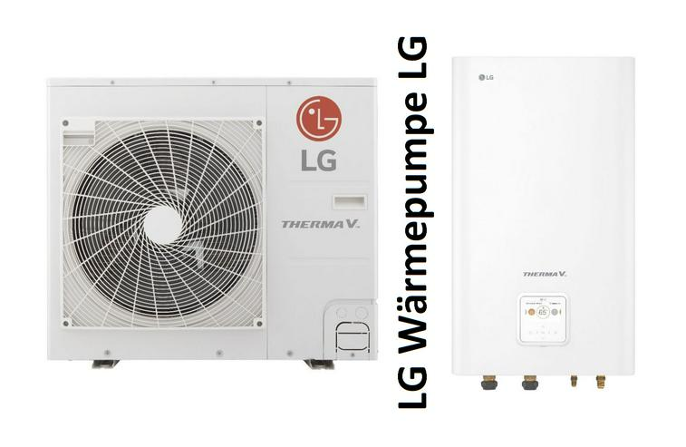 1A LG Therma V Set Split Luft-Wasser-Wärmepumpe R32, 7 kW pre - Wärmepumpen - Bild 1