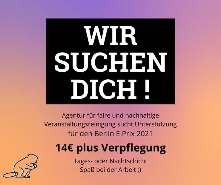 Servicekraft und Cleaner für die elektronische Formel 1 in Berlin