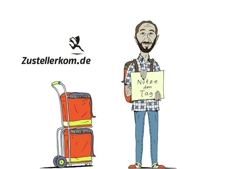 Minijob in Eckental - Zeitung austragen, Zusteller m/w/d gesucht