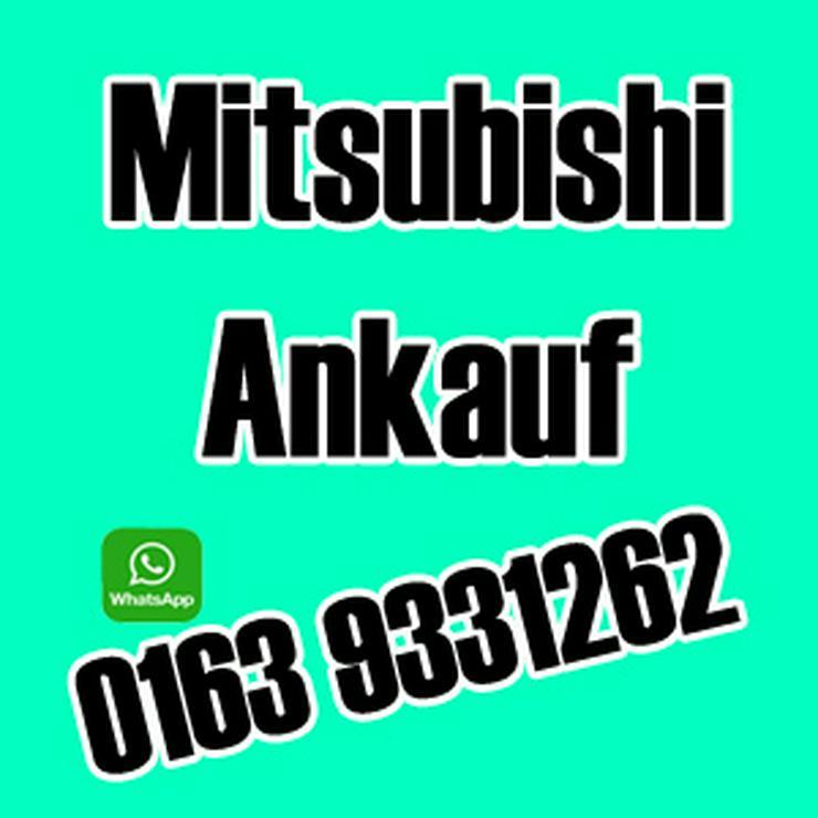 Mitsubishi Ankauf aller Modelle, auch defekt