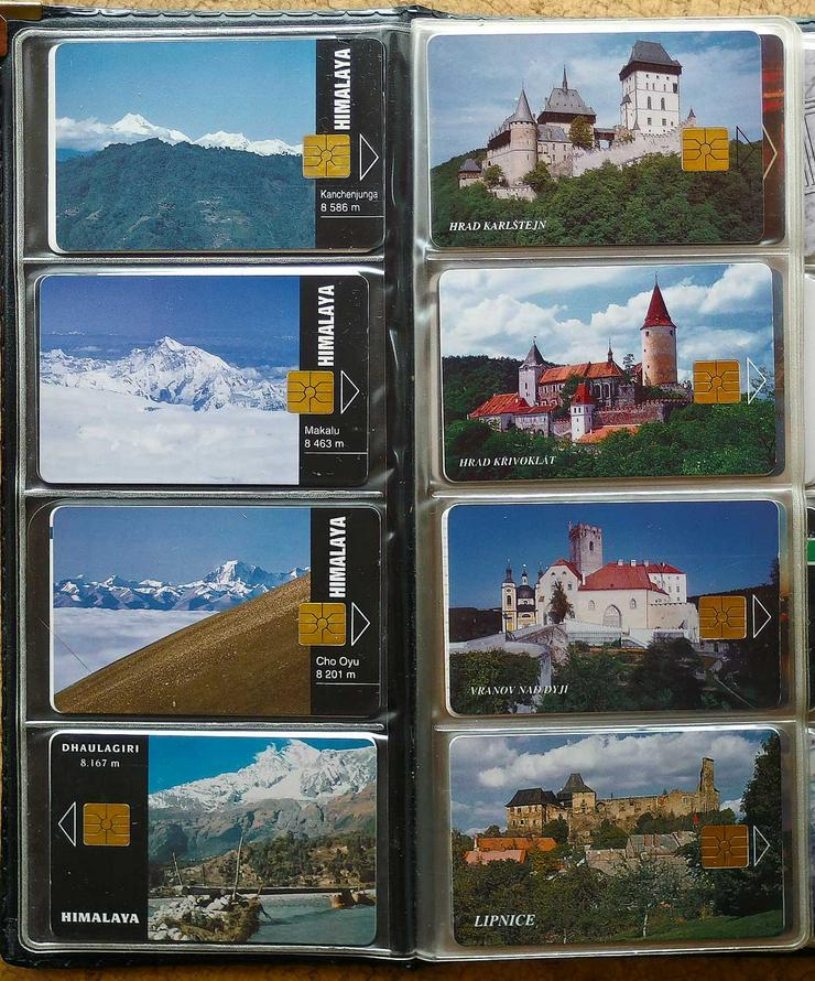 Bild 6: Telefonkarten aus den 90er Jahren