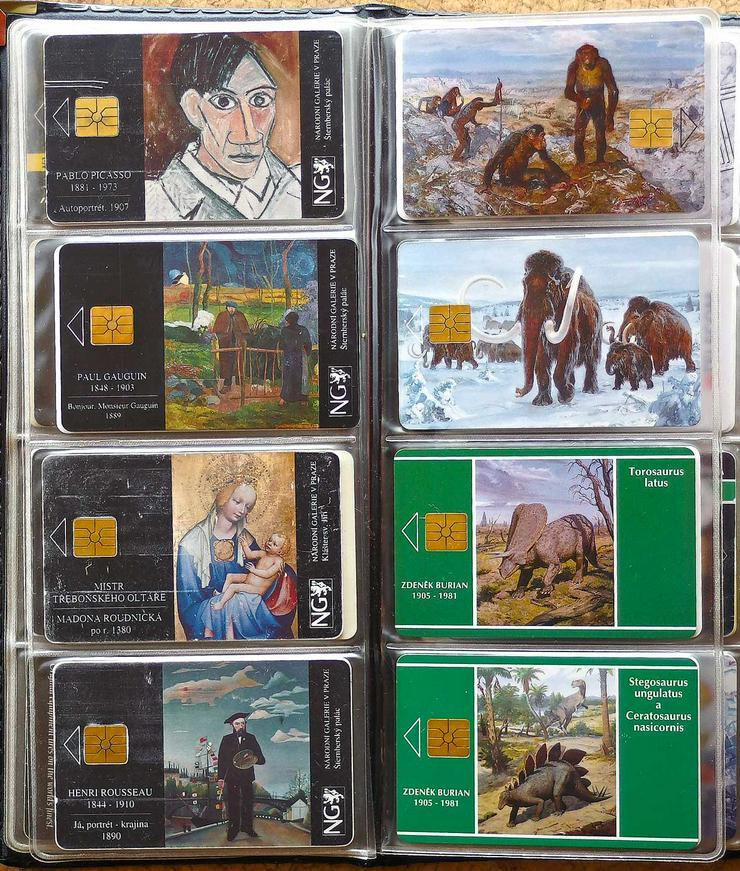 Bild 5: Telefonkarten aus den 90er Jahren
