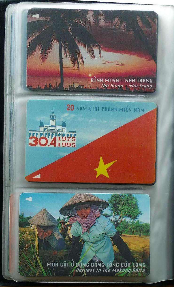 Bild 3: Telefonkarten aus den 90er Jahren