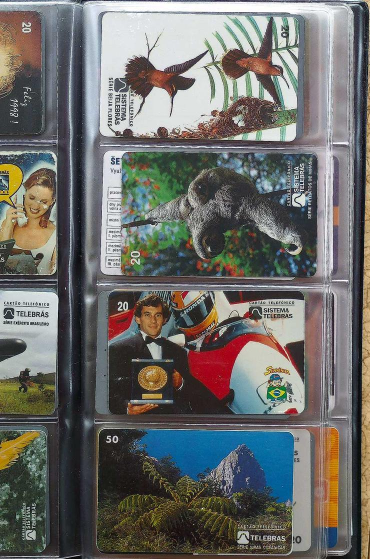 Bild 4: Telefonkarten aus den 90er Jahren