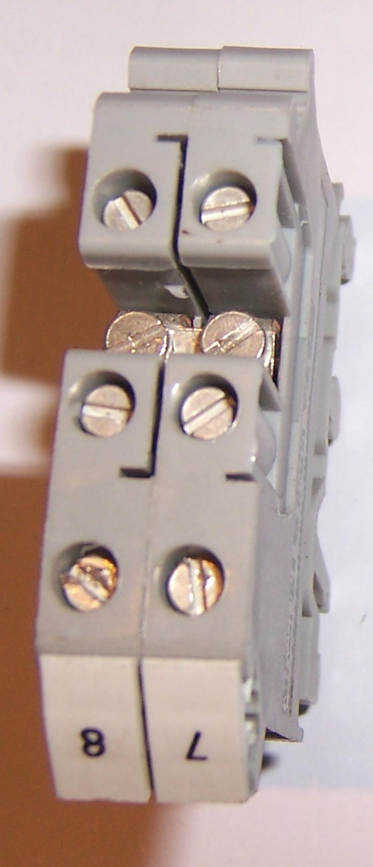 Schaltschrank Reihenklemmen, Phoenix Durchgangsklemmen UK5-TWIN, 2,5 mm2
