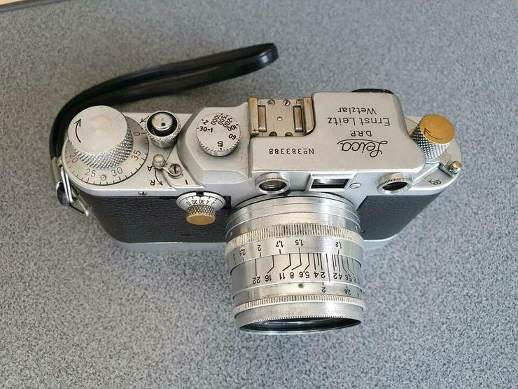Leica III C MIT LEICAVIT und Objektiv