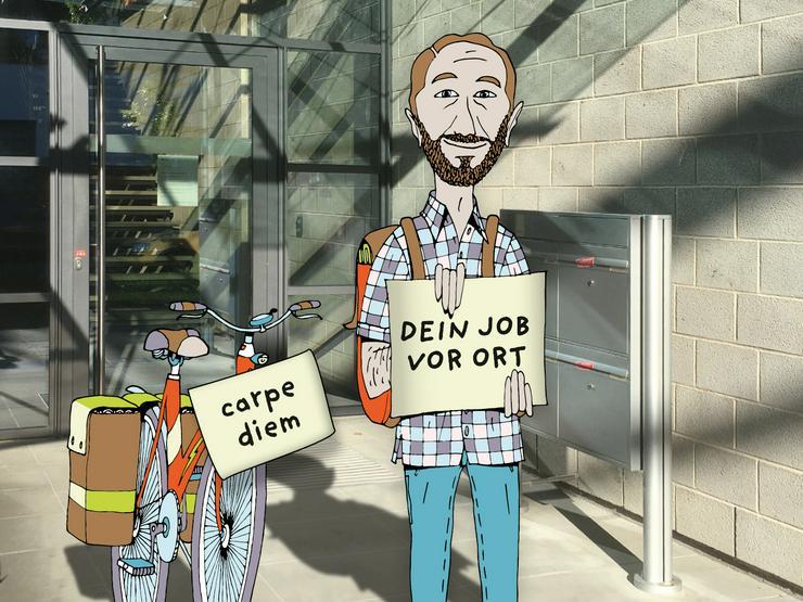 Zeitung austragen in Stuttgart - Untertürkheim - Job, Nebenjob, Minijob