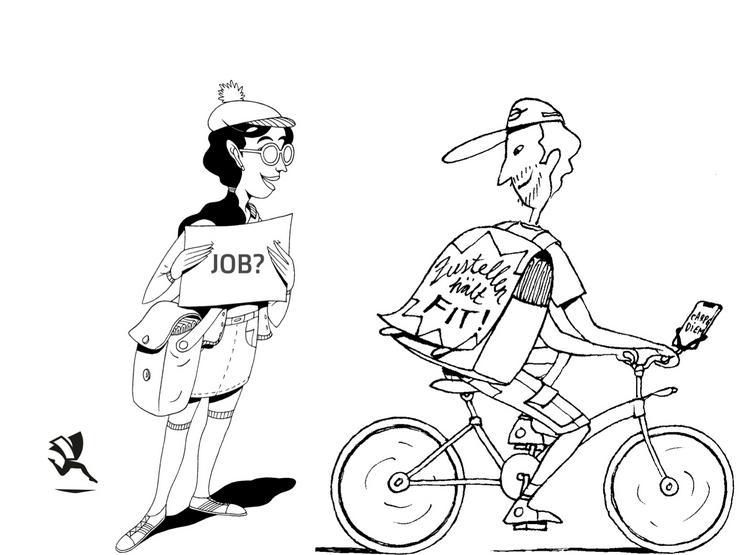 Zeitung austragen in Kornwestheim - Job, Nebenjob, Minijob