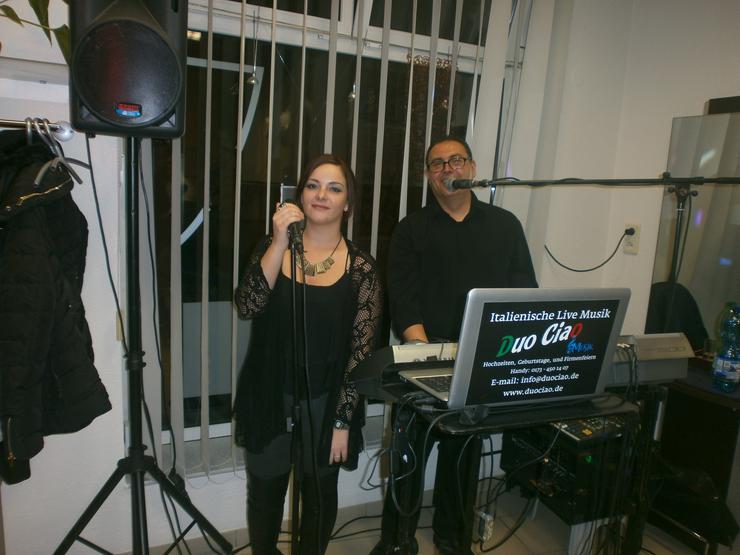 Italienisch Live Musik Internationale für jede Anlässe