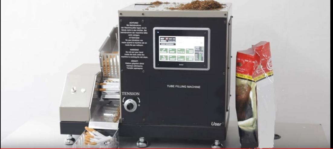 zigarettenstopfmaschine elektrisch / vollautomatisch