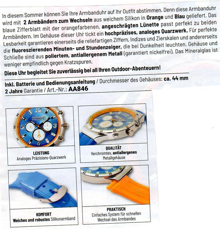 Bild 2: Herren Uhr neu € 40