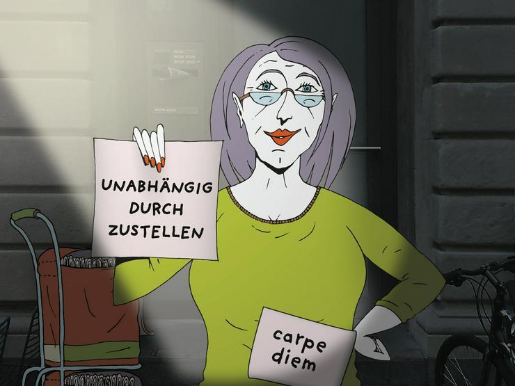 Minijob in Bad Säckingen - Zeitung austragen, Zusteller m/w/d gesucht