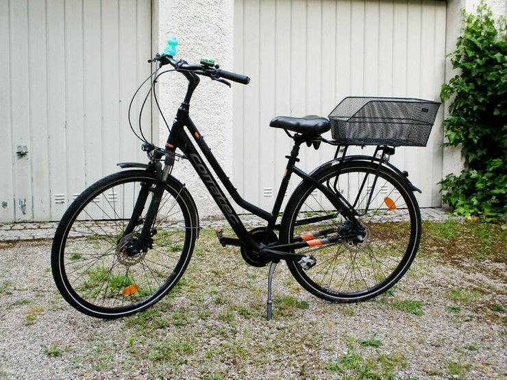 "Verkaufe Damenrad ""Corratec 8 Speed Wave"", Rahmen: 45 cm, kaum gefahren  550 € VB"