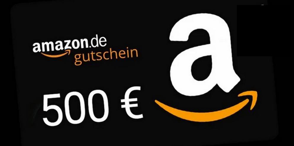 500€ Amazon Gutschein