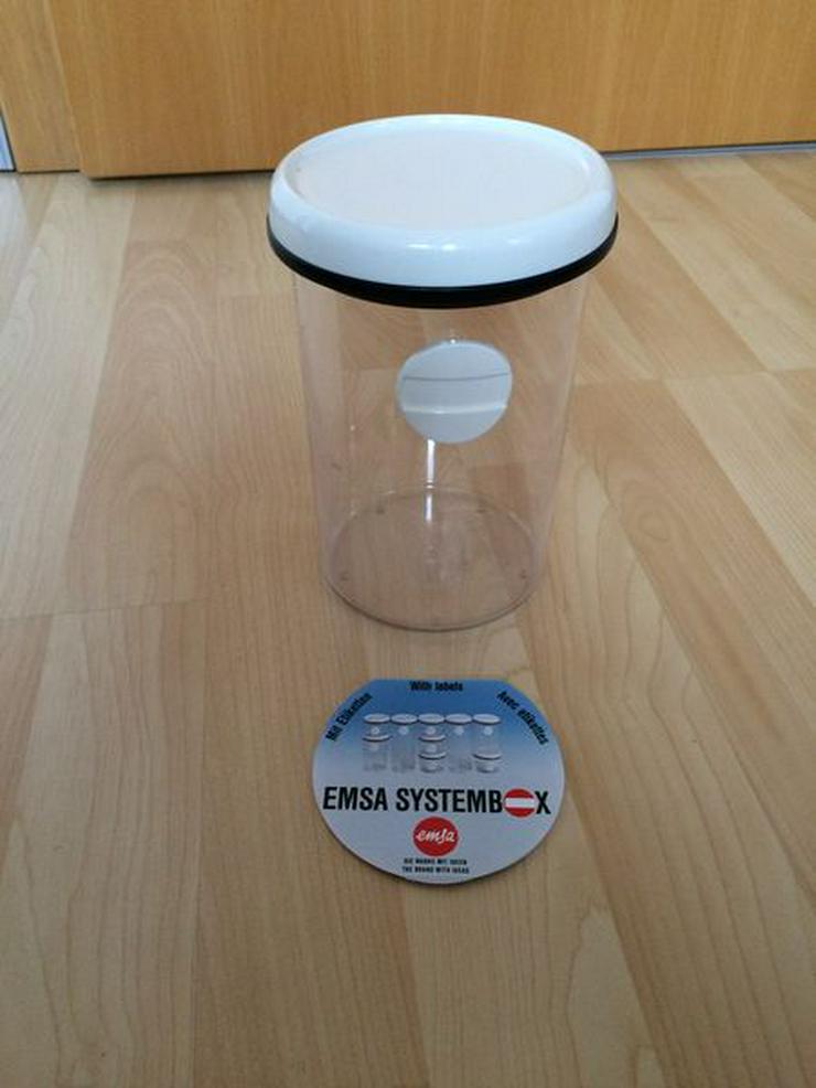 Emsa Trockenvorratsdose, rund, mit Deckel, UNBENUTZT - Vorratsdosen - Bild 1