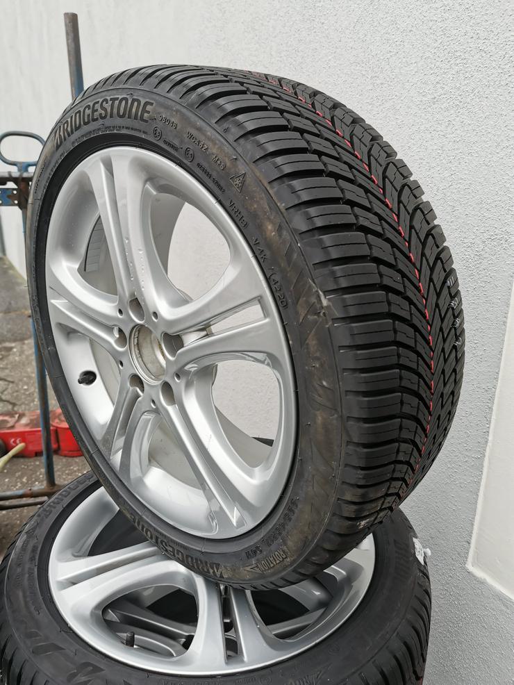 NEU! Mercedes A-, B-, CLA Kompletträder mit Allwetterreifen 225/45 R17