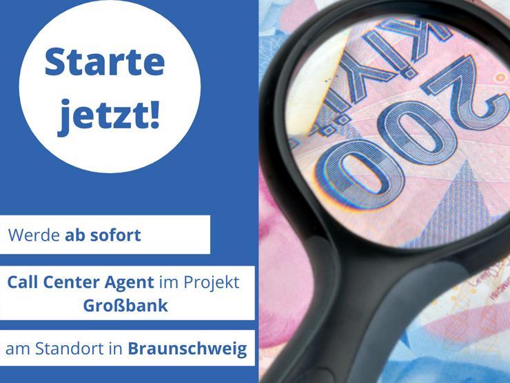 Call Center Agent / Verkäuferin (m/w/d) Großbank