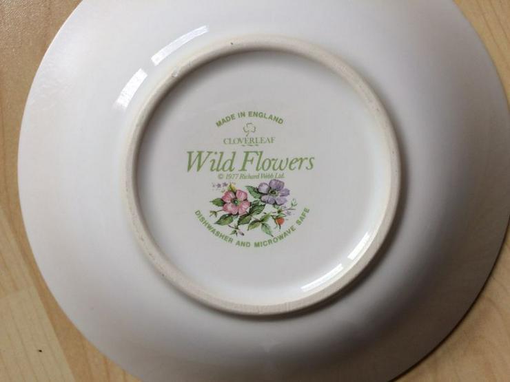 Bild 4: Cloverleaf Wild Flowers Beilagenschale Müslischale UNBENUTZT