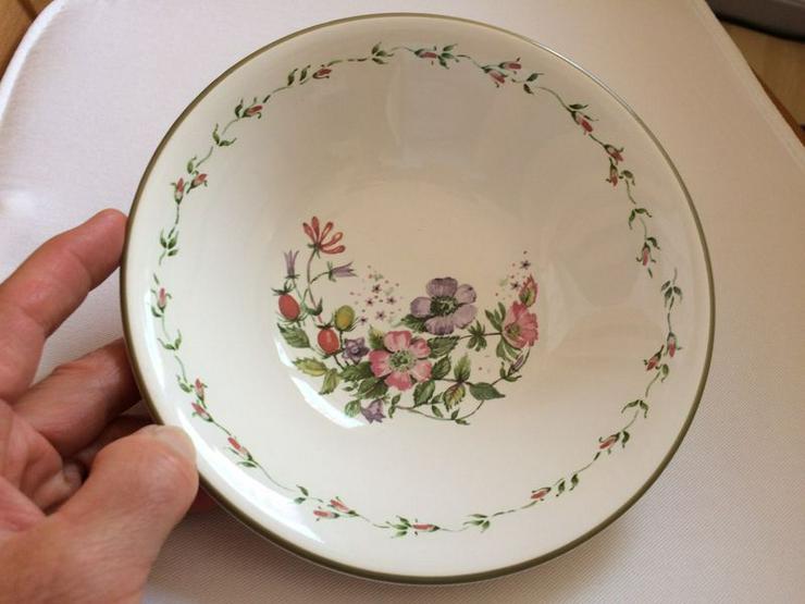 Bild 2: Cloverleaf Wild Flowers Beilagenschale Müslischale UNBENUTZT