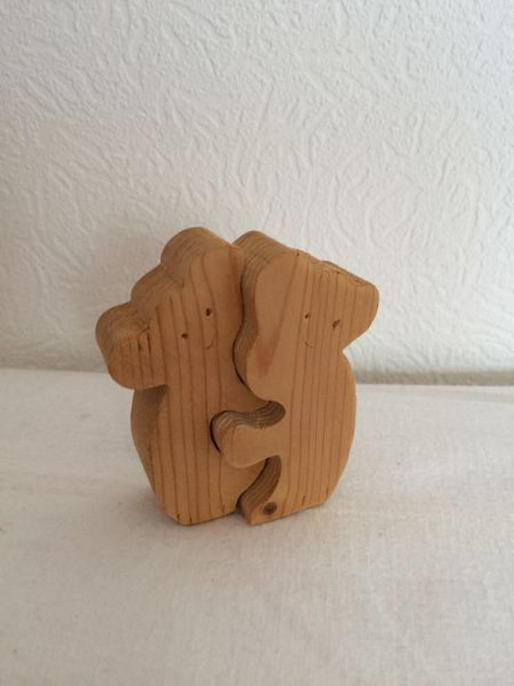 Koala Holzfigürchen 2tlg. 7 cm UNBESPIELT