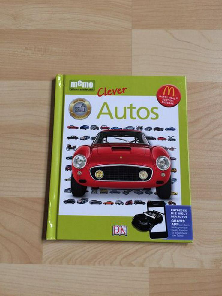 Taschenlexikon Memo Clever Autos, zusätzl. App verfügbar