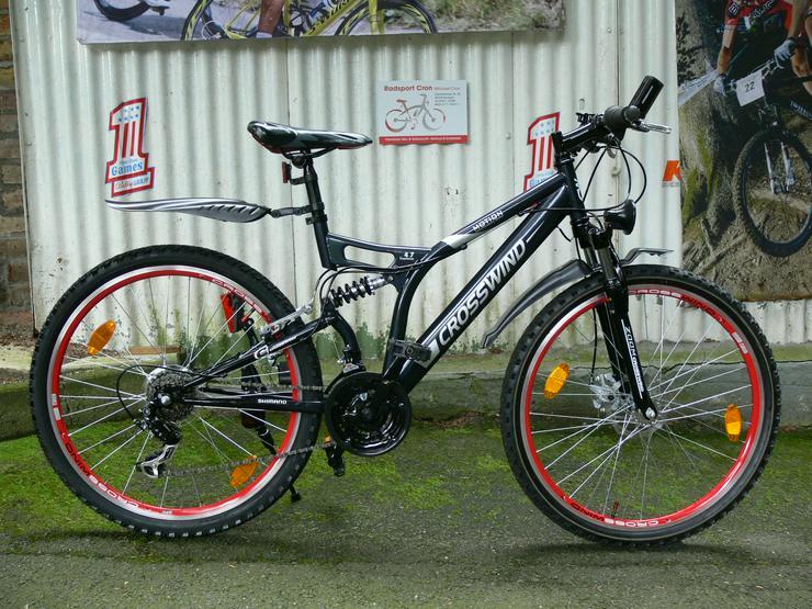 Mountainbike von CROSSWIND , mit 21 Gang von SHIMANO - TOURNEY