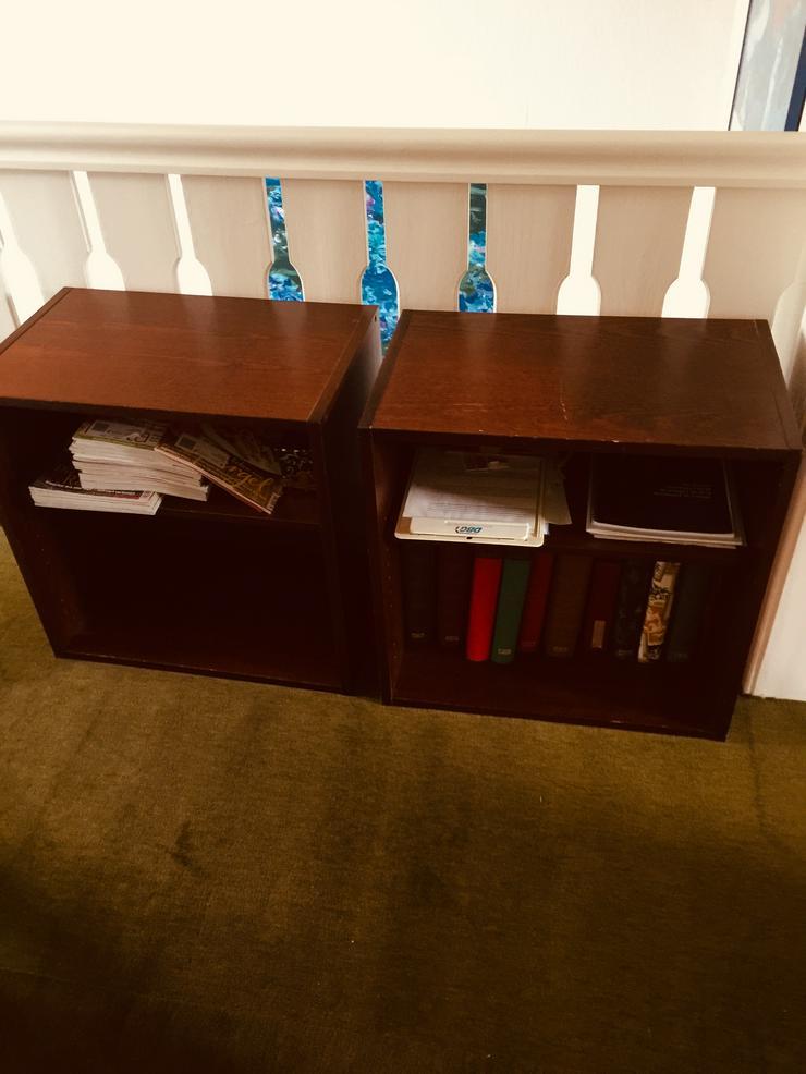 Bild 4: Kommode (für Büro/Wohn-/Schlafzimmer) plus Regale
