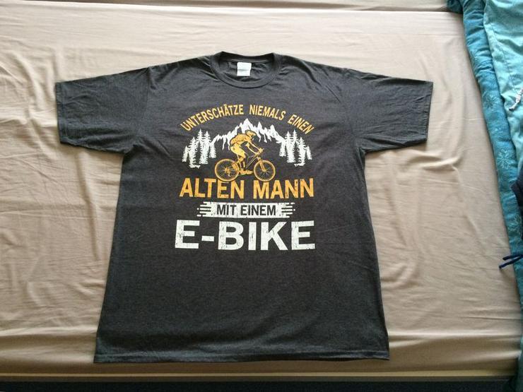 T-Shirt Herren Unterschätze, Gr. L, NEU