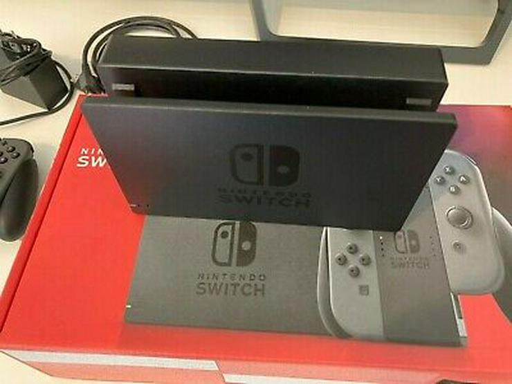Bild 3: Nintendo Switch-Konsole mit Joy-Con-Paar - Grau