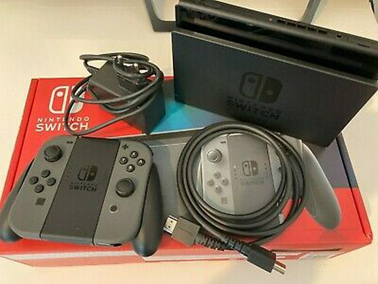 Nintendo Switch-Konsole mit Joy-Con-Paar - Grau - Nintendo - Bild 1