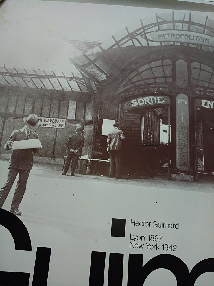 1975 Jugendstil  Ausstellung H. Guimard Westfalen
