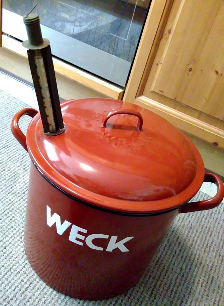Einmach-Kochtopf von WECK XXL aus Haushaltsauflösung