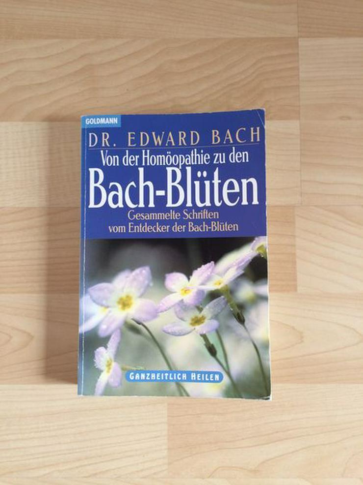 Buch Von der Homöopathie zu den Bach-Blüten, neuwertig