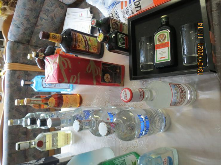 Bild 4: Spirituosen (tw.Geschenke v.Silberhochzeit) ungeöffnet