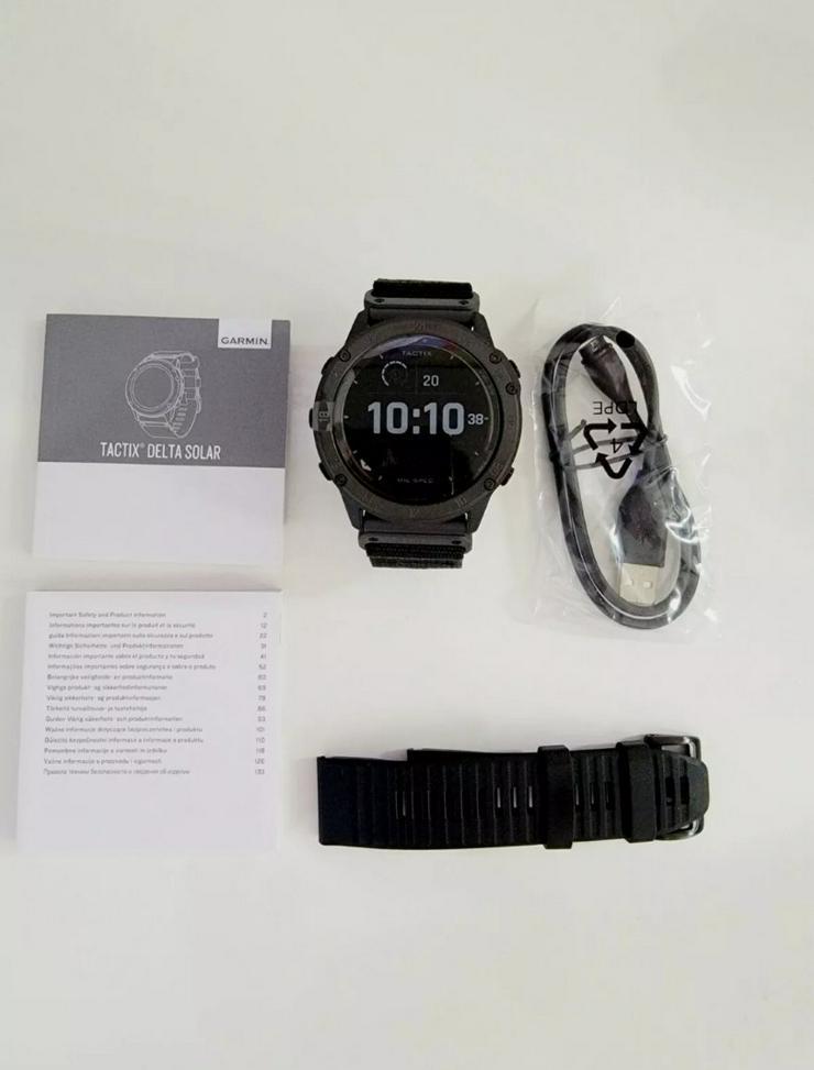 Garmin Tactix Delta Solar Edition - Damen Armbanduhren - Bild 1