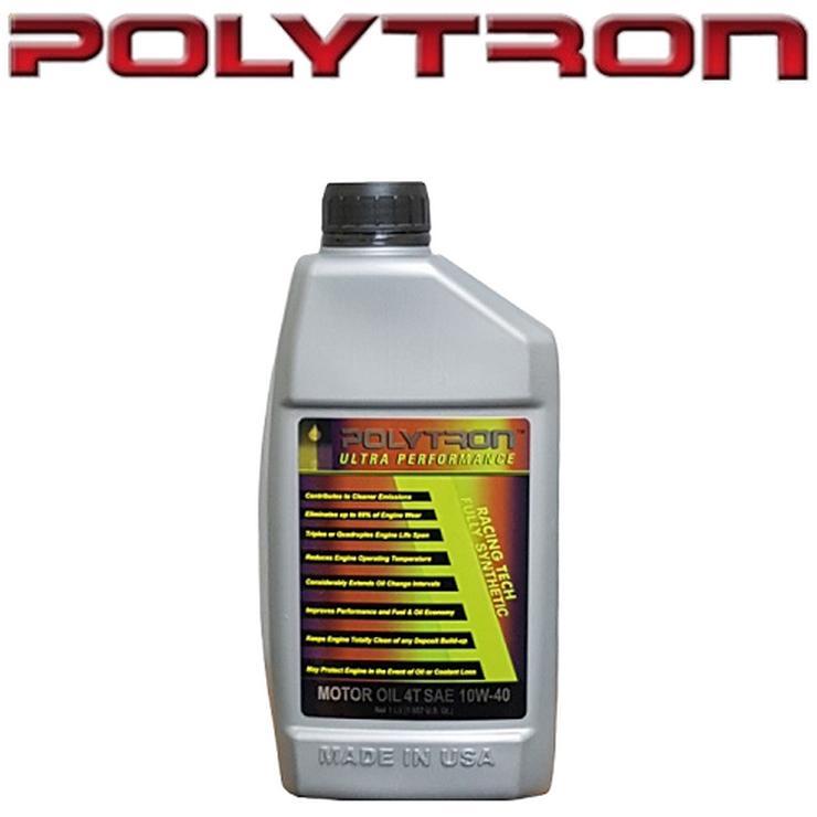 POLYTRON Vollsynthetisches 4-Takt-Motorradöl 10W40