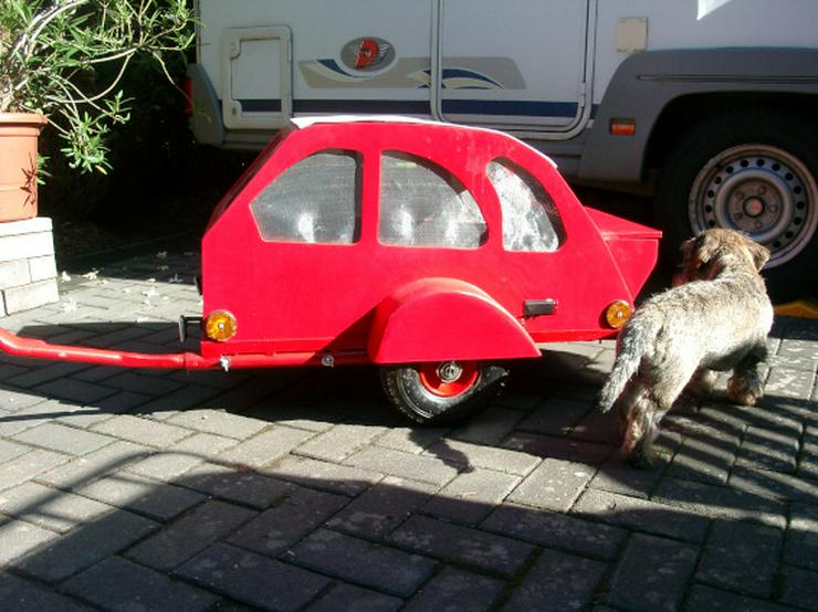 Hunde - Fahrradanhänger...