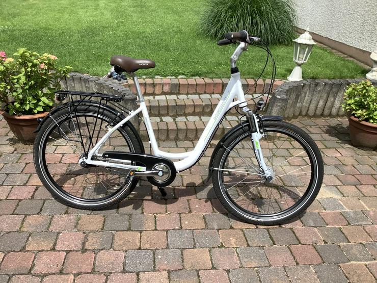 2 identische.Citybikes, schwarz u.weiß, Tiefeinstieg - Citybikes, Hollandräder & Cruiser - Bild 1