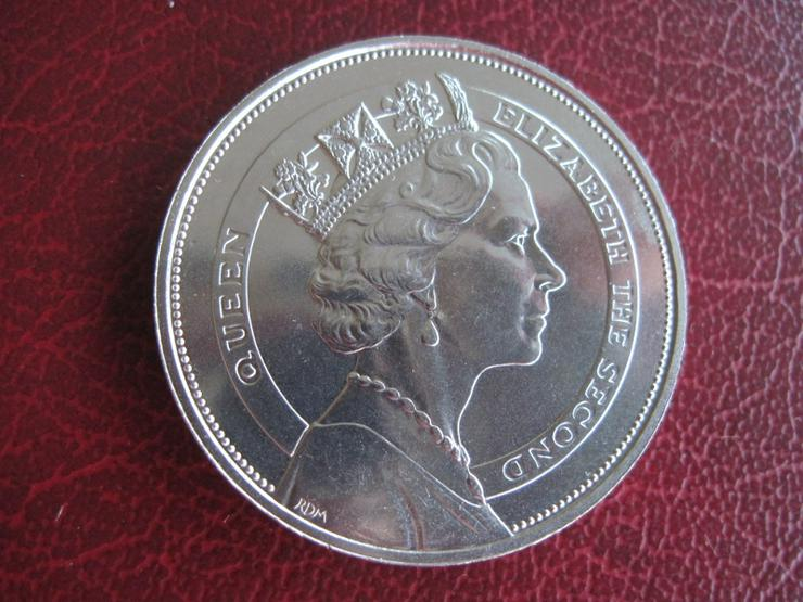 Bild 2: 10 $ Dollars  St. Vincent + Grenada Royal Visit 1985 Queen Elizabeth II.