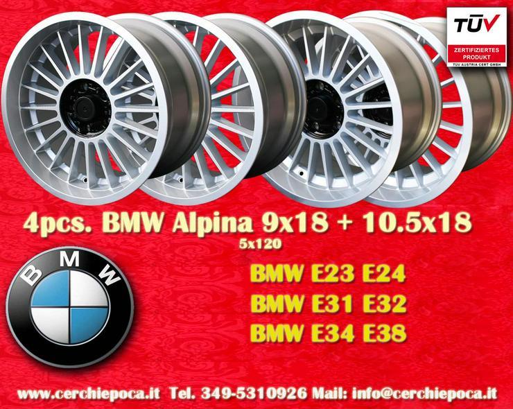 Felgen 9x18 10x18 BMW E34 E24 E23 E32 E31 E38