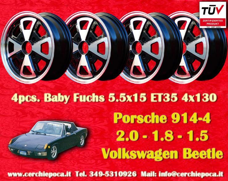 Felgen Porsche 914/4 Baby Fuchs 5.5x15 ET35 4x130